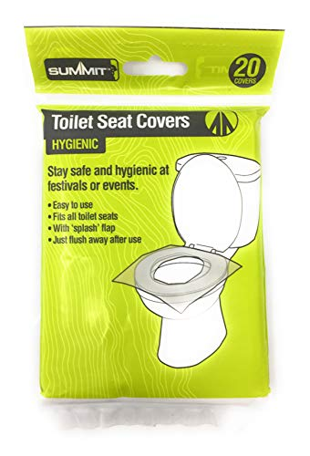 PMS Festival/Camping Toilet SEAT Covers PK 20